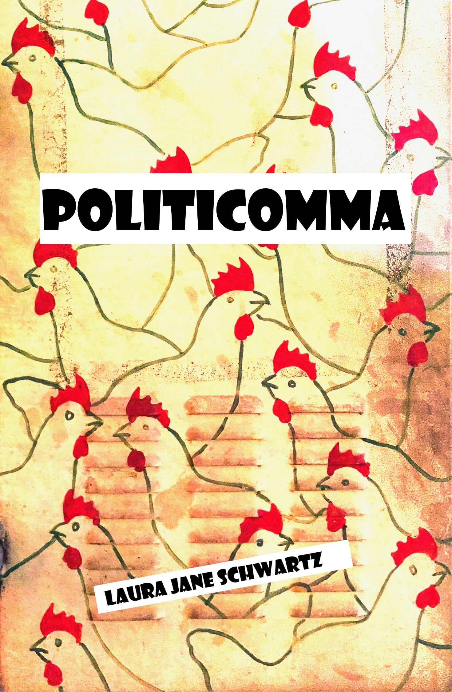 Politicomma Wattpad Cover